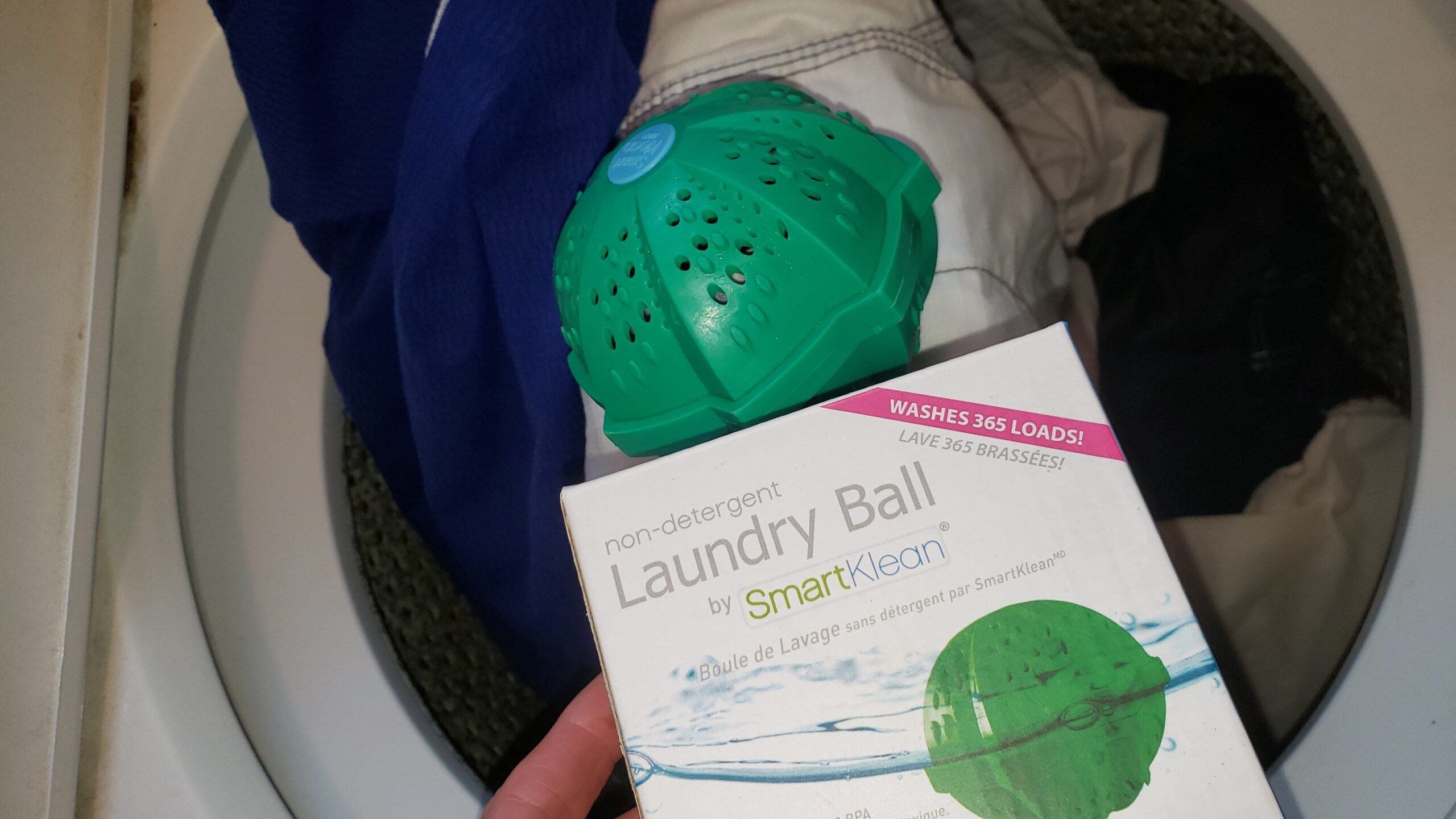 A better way to clean clothes – The Laundry Ball