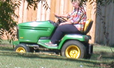 Is mowing your yard considered exercise?